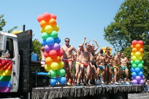 Always the float I look forward to most at Pride